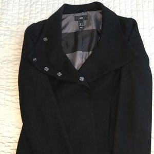 Like new double breasted multi-way coat from h&m